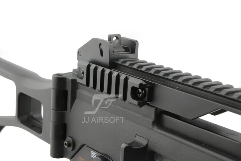 JJ Airsoft CNC G36 Carrying Handle Side Rail Set TAN